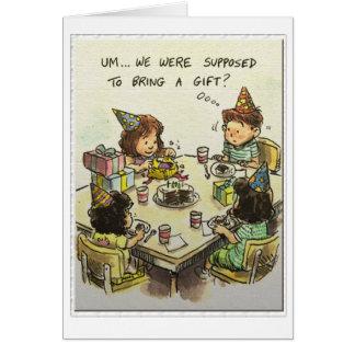 Um... Gifts? Card