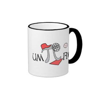 um-Pi-re - Funny Pi Coffee Mug