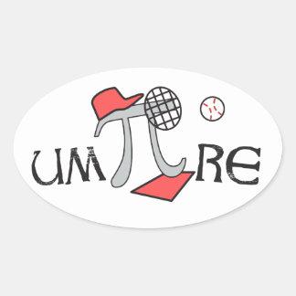 um-Pi-re - Funny Pi Stickers - Pi Gift