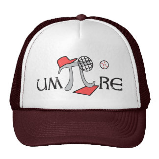 um-Pi-re - Math Umpire - Funny Pi Day Gift Mesh Hat