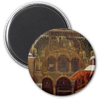 Umayyad Mosque 6 Cm Round Magnet