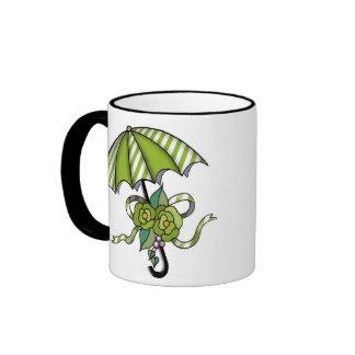 Umberlla with Roses 15 Mug