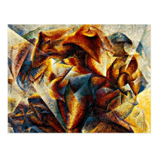Umberto Boccioni - Dynamism of a Soccer Player Postcard