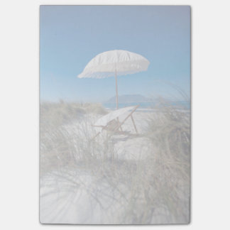 Umbrella And Chair On Beach Post-it Notes