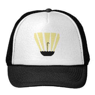 Umbrella And Sun Trucker Hat