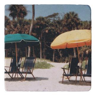 Umbrella Beach Trivet