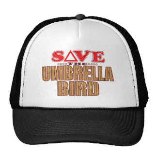 Umbrella Bird Save Cap