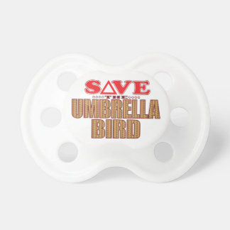 Umbrella Bird Save Pacifier
