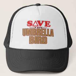 Umbrella Bird Save Trucker Hat