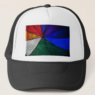 Umbrella Closeup Trucker Hat
