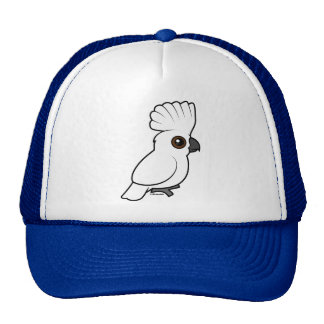 Umbrella Cockatoo (raised) Cap
