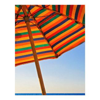 umbrella custom flyer