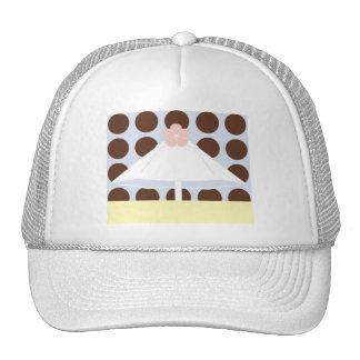 Umbrella in Pastels Hats