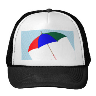 Umbrella In The Rain Cap