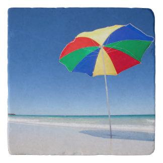 Umbrella On Beach | Australia Trivet