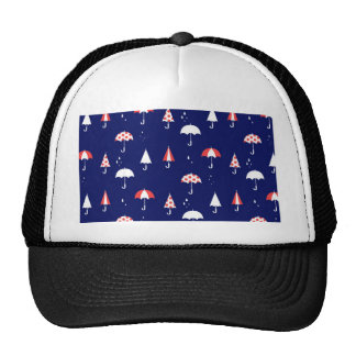 Umbrella pattern vintage and playful cap