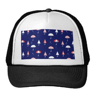 Umbrella pattern vintage and playful cap