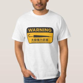 Umbrella Revolution 雨傘革命 - 危險兵器Tee T-Shirt