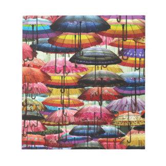 Umbrella Roofing Notepad