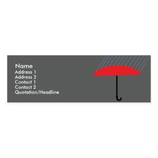 Umbrella - Skinny Pack Of Skinny Business Cards
