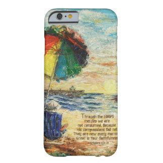 Umbrella Sunrise Lamentations 3:22-23 Barely There iPhone 6 Case