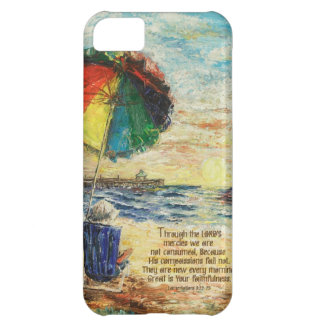 Umbrella Sunrise Lamentations 3:22-23 iPhone 5C Case