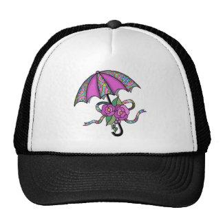 Umbrella with Roses 02 Trucker Hat