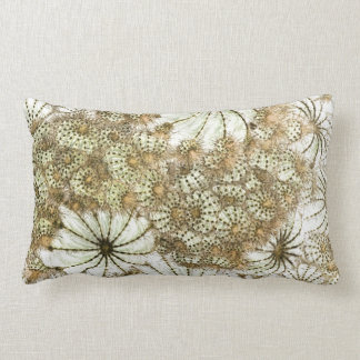 Umbrellas and Urchins Throw Pillows