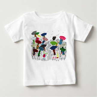 Umbrellas Baby T-Shirt