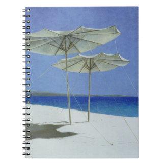 Umbrellas Greece 1995 Note Books