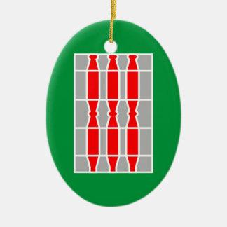 Umbria (Italy) Flag Christmas Ornament