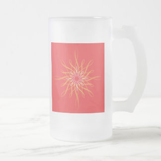 UMD Convention Frosted Glass Mug