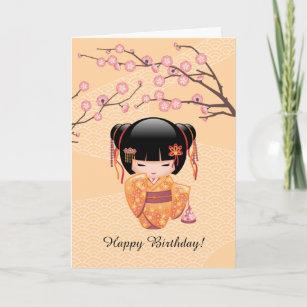 Japanese Birthday Cards