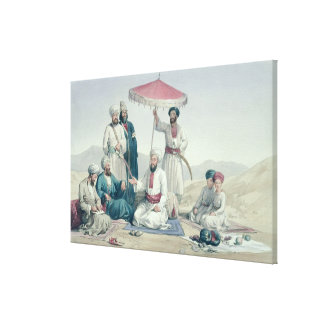 Umeer Dost Mohammed Khan, from 'Characters and Cos Canvas Print