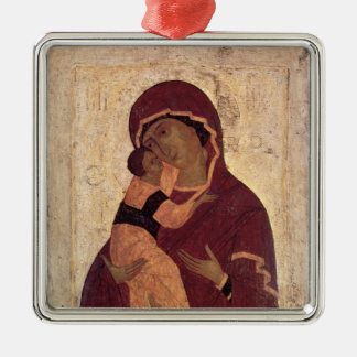 Umilenie Virgin of Wladimir, Moscow School Christmas Ornament