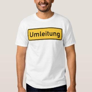 Umleitung T-shirts