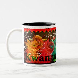 Umoja! - Kwanzaa Two-Tone Coffee Mug