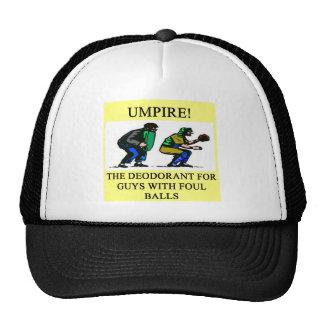 UMPIRE baseball joke. Cap