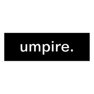Umpire Business Card
