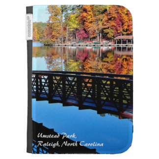 Umstead Park in Autumn Kindle 3G Cases
