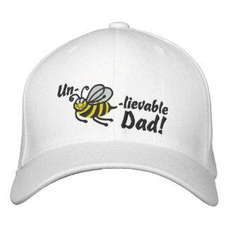 Un-bee-believable Dad! - Cap Embroidered Baseball Cap