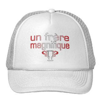 Un Frère Magnifique Canada Flag Colors Trucker Hat