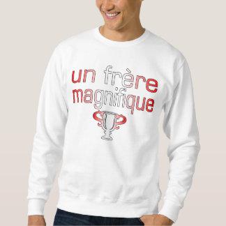Un Frère Magnifique Canada Flag Colors Sweatshirt
