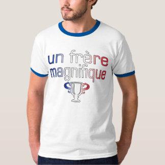 Un Frère Magnifique France Flag Colors Shirts