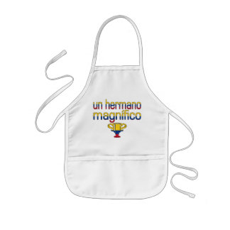 Un Hermano Magnífico Colombia Flag Colors Aprons