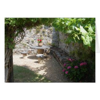 Un jardin à la française card