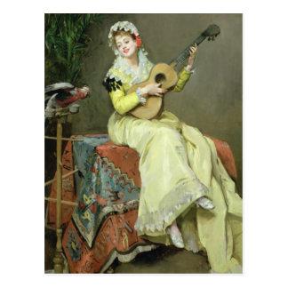 Un Moment Musical Postcard
