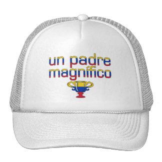 Un Padre Magnífico Venezuela Flag Colors Cap