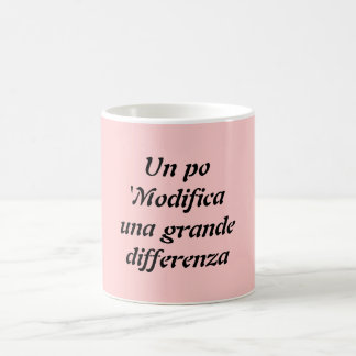 Un po 'Modifica una grande differenza Coffee Mug