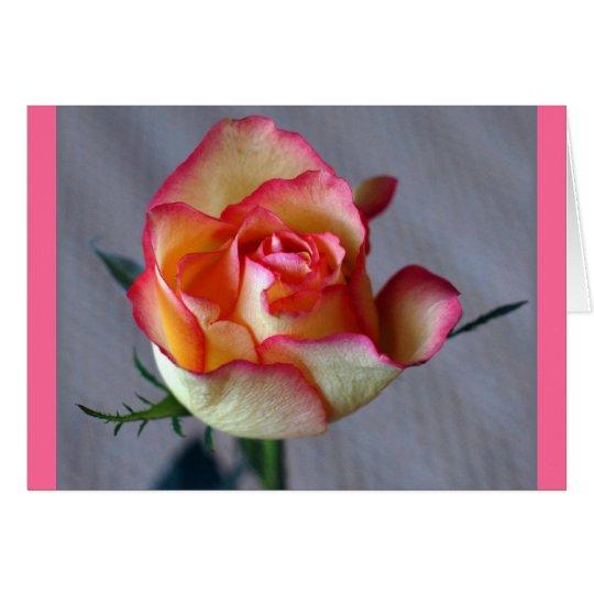 """""""Una Rosa"""" Card"""